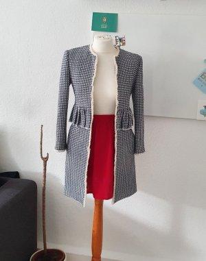 Zara Krótki płaszcz Wielokolorowy