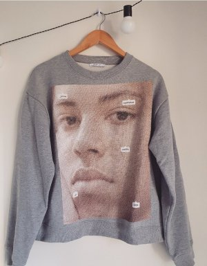 Zara Sweter oversize Wielokolorowy