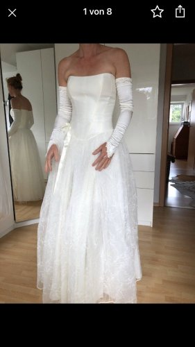 Robe de bal blanc