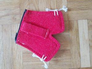 Unbekannter designer Folkloristische tas rood