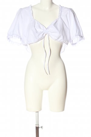 Wiesnkönig Traditional Blouse white elegant