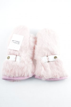 Wigens Fur Gloves multicolored Fur Trim