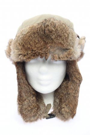 Wigens Fur Hat brown casual look