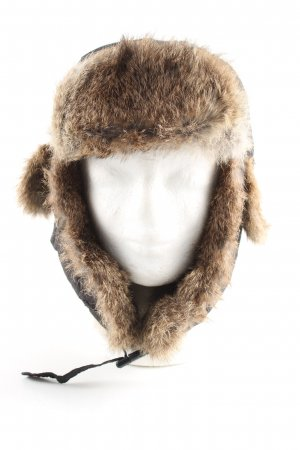 Wigens Aviator Hat brown-nude casual look