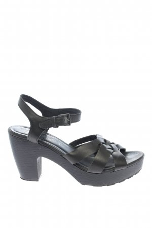 Wild Flower High Heel Sandaletten schwarz Casual-Look