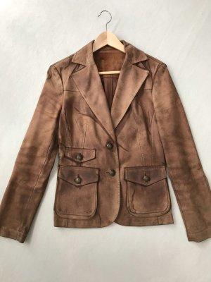 Wild/ Rauhleder Jacke /Blazer im Vintage Look