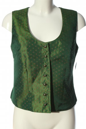 Wild & Wald Traditional Vest green wet-look