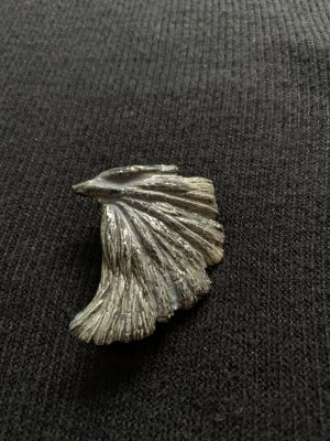 Spilla cachi-antracite