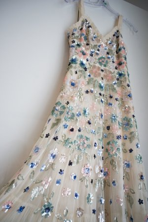 Wildflower Sequin Gown