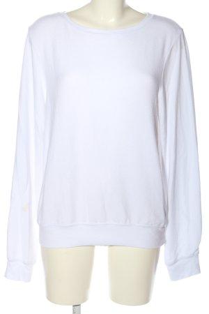 Wildfox Maglione girocollo bianco stile casual