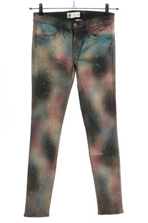 Wildfox Jeans skinny Colore sfumato stile stravagante