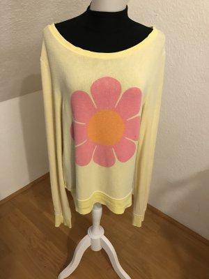 Wildfox Sweatshirt mit Blume Größe S