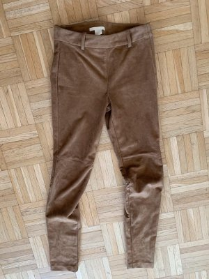 H&M Leather Trousers multicolored