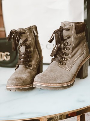 Tamaris Ankle Boots grey-light brown