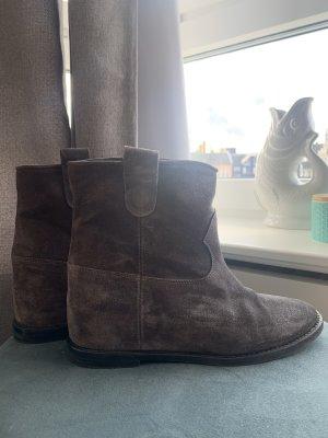 Wildleder Boots im Isabel Marant Stil, Gr. 37