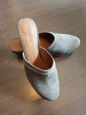 Marc O'Polo Clog Sandals grey