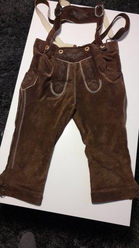 Pantalone a 3/4 bronzo