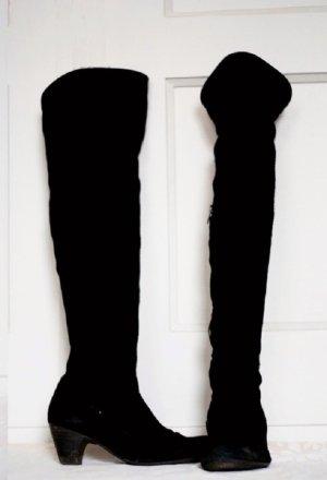 Overknees schwarz