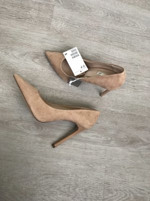 Wildleder Pumps H&M Premium Collection Neu