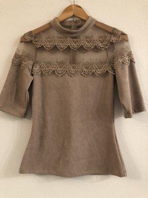 Davantino (per blusa) marrone chiaro