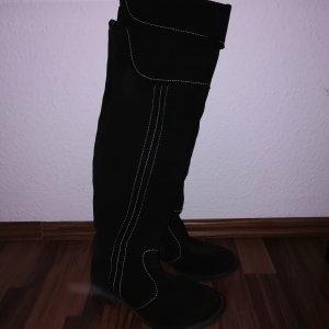 Josef seibel Kniehoge laarzen zwart