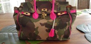 Wildleder Tasche camouflage