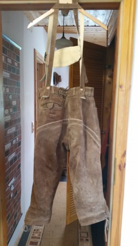 Traditional Trousers sand brown-light brown