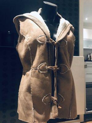 Hooded Vest multicolored mixture fibre