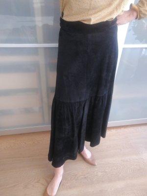 Leather Skirt black