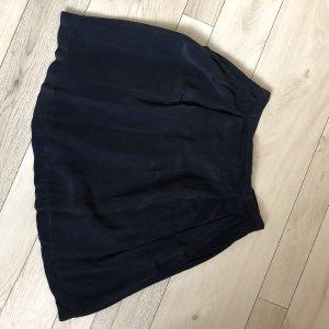 Wildseidenrock dunkelblau, Größe 34