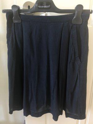 Rosemunde Silk Skirt dark blue