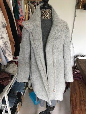 H&M Manteau en laine gris clair