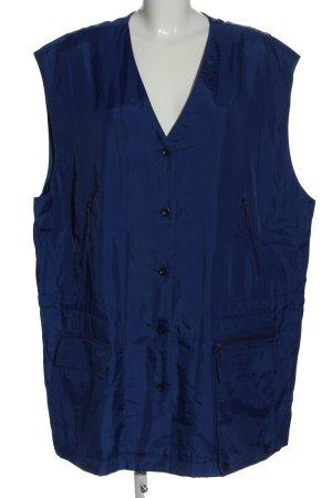 Wille Steppweste blau Casual-Look