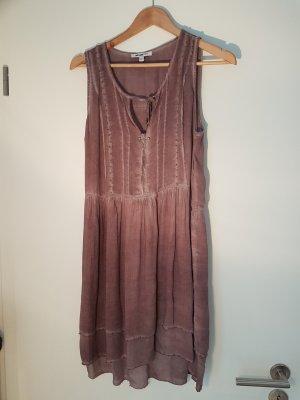 William Rast Mini Dress grey lilac modal fibre