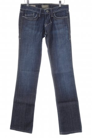 William Rast Straight-Leg Jeans dunkelblau Jeans-Optik