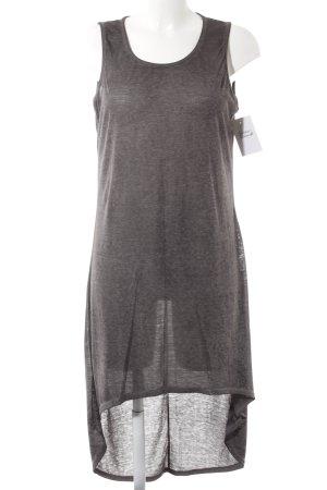 William Rast Vokuhila-Kleid grau-dunkelgrau meliert sportlicher Stil