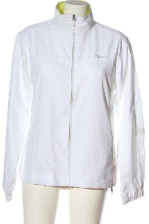 Wilson Kurtka sportowa biały Wydrukowane logo W stylu casual