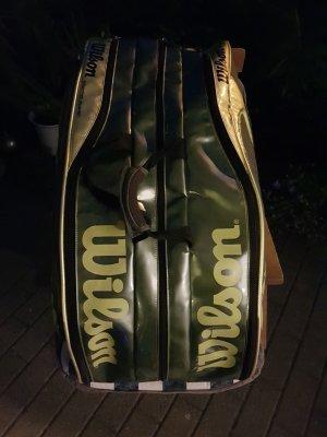 Wilson Tennistasche thermo guard grün/gold