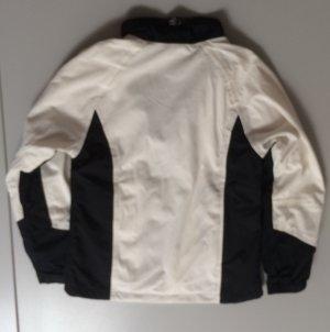Windbreaker white-black