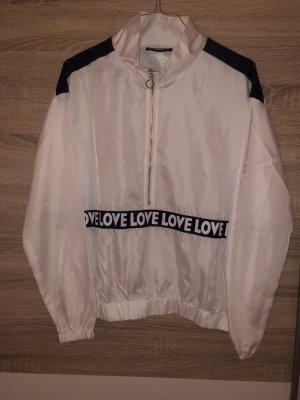 SheIn Długi sweter biały-czarny