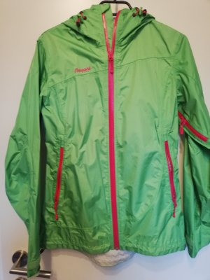 Bergans of Norway Raincoat magenta-meadow green