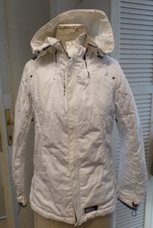 Gstar Chaqueta con capucha blanco Algodón