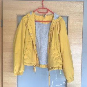 H&M Divided Kurtka przejściowa żółty-złotopomarańczowy
