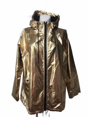 Windjacke Gold Damen Jacke mit Kapuze XXL