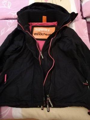 Windbreaker black-pink