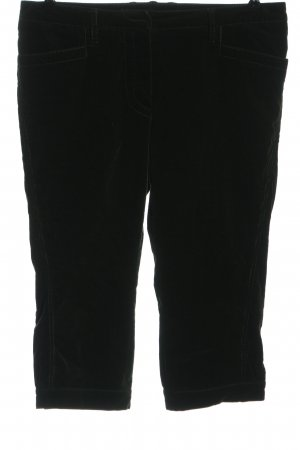 Windsor 3/4 Length Trousers black striped pattern casual look