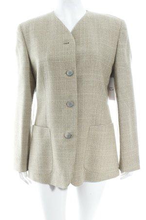 Windsor Blazer beige glen check pattern business style