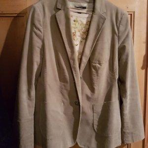 Windsor Blazer Kord beige Gr 44 Jacke
