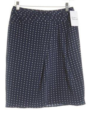 Windsor Bleistiftrock dunkelblau-weiß Karomuster Business-Look