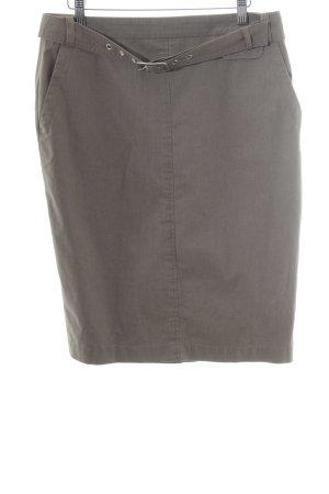 Windsor Bleistiftrock graubraun Casual-Look